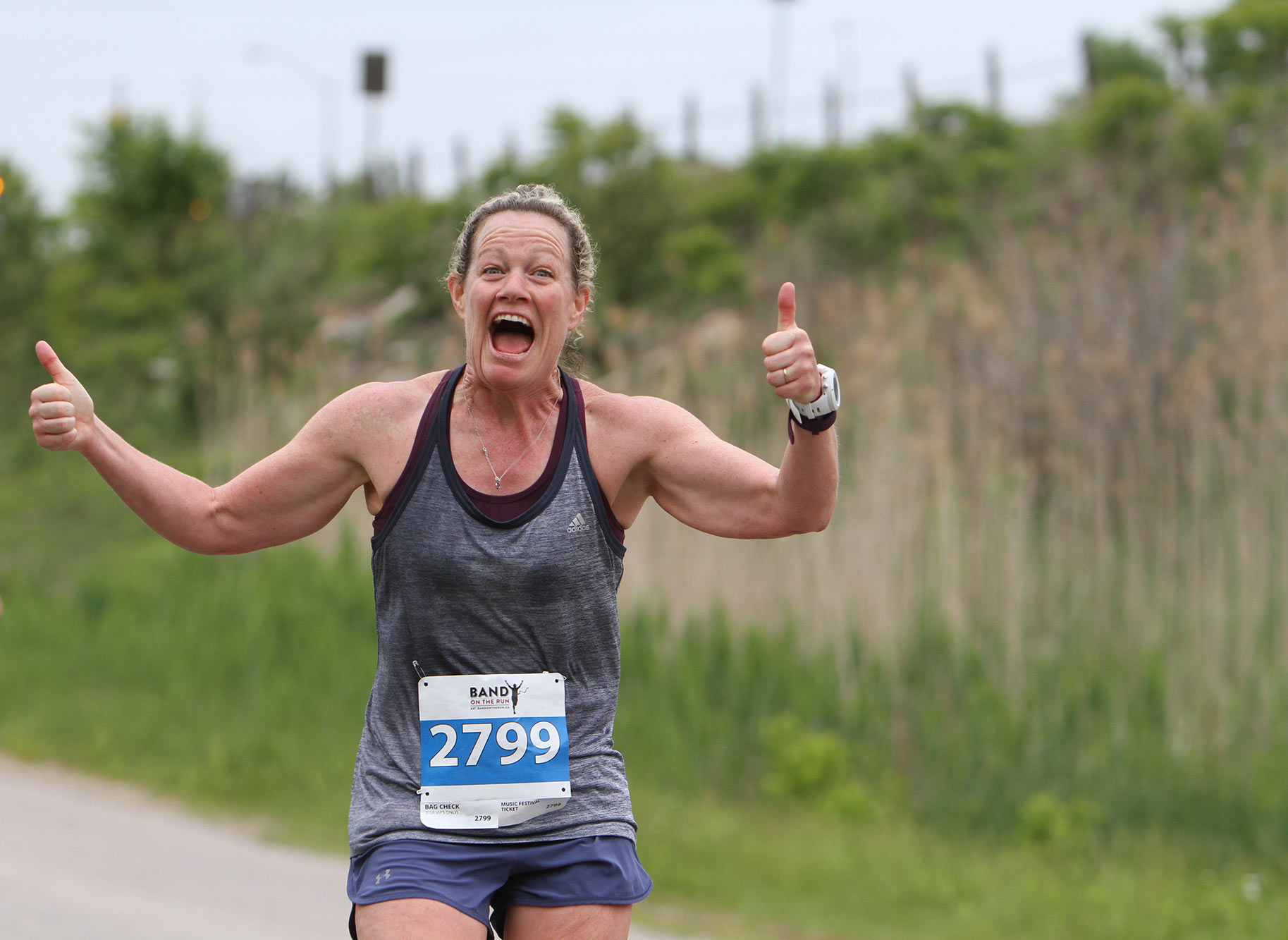 The most fun you will have at a running event